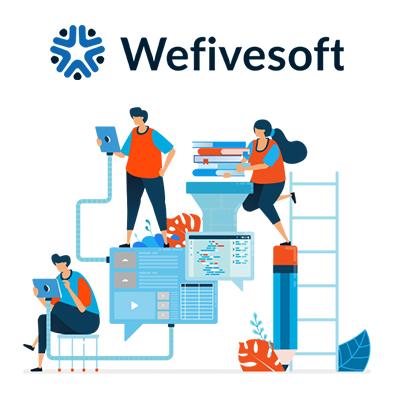 Online School Software - School Fee Management Software   Wefivesoft LLC